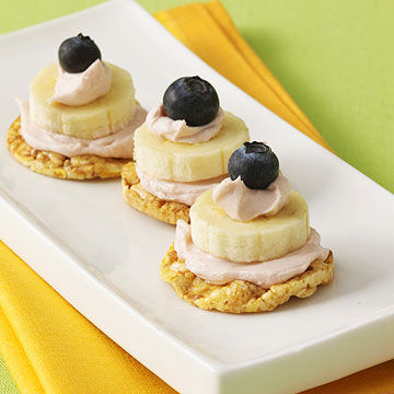 Blueberry-Banana Stacks