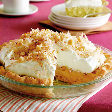 Coconut Macadamia Nut Pie